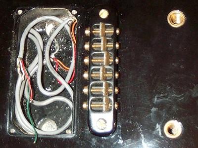 Die Saitenerdung in der Elektrogitarre